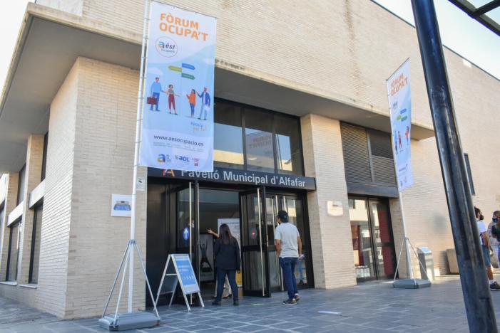 Alfafar acull a més de 700 persones en l'II Fòrum d'Ocupació d'Alfafar
