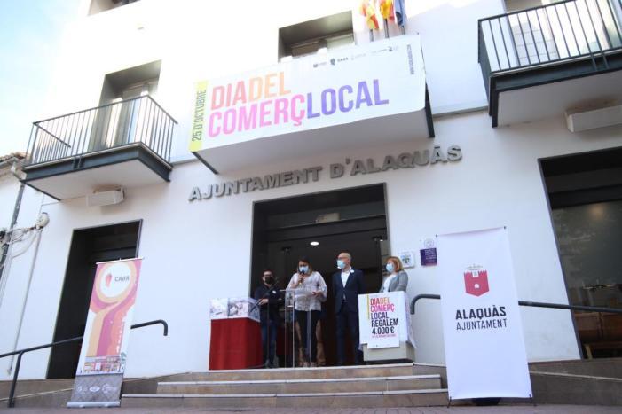 Alaquàs va commemorar ahir 25 d'octubre el Dia del Comerç Local