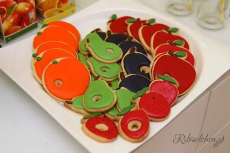 Raupe Nimmersatt Kekse