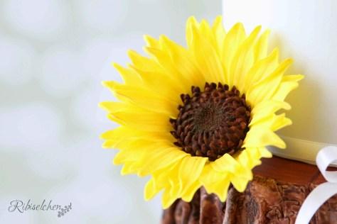 Sonnenblumen Torte 6