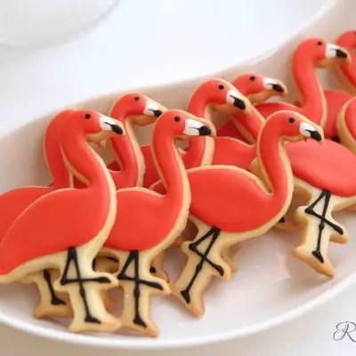 Flamingo Kekse