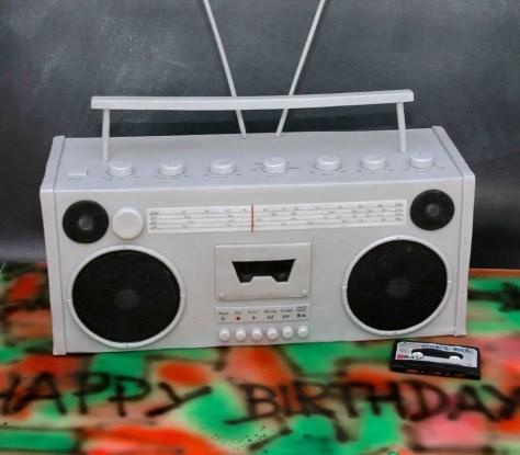 Ghettoblaster Torte