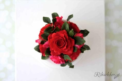Hochzeitstorte Rosen 5