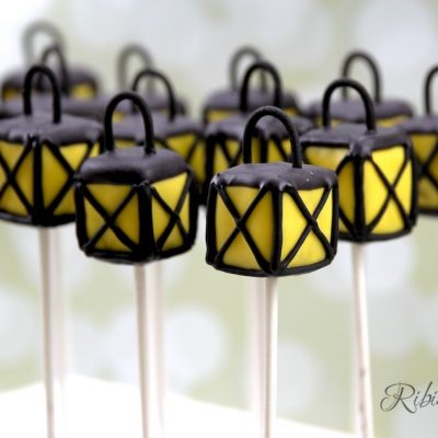 Laternen Cake Pops