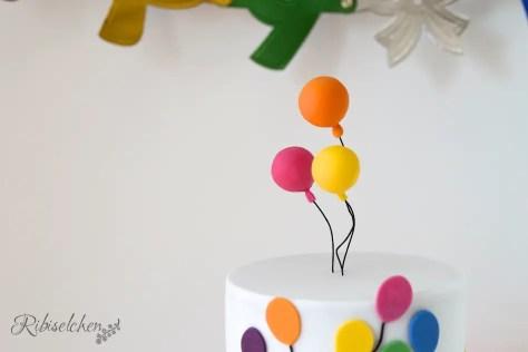 Luftballontorte