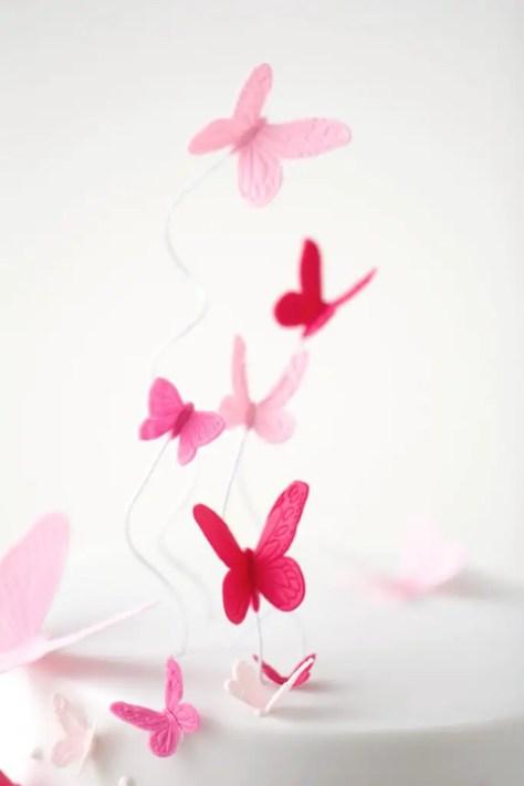 Schmetterlingstorte