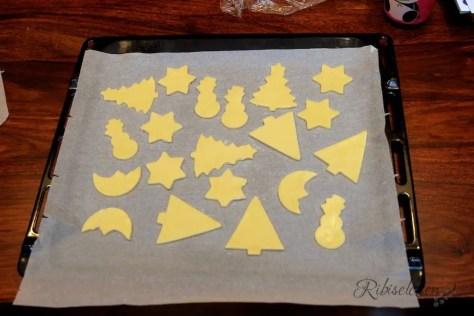 Kekse auf Backblech