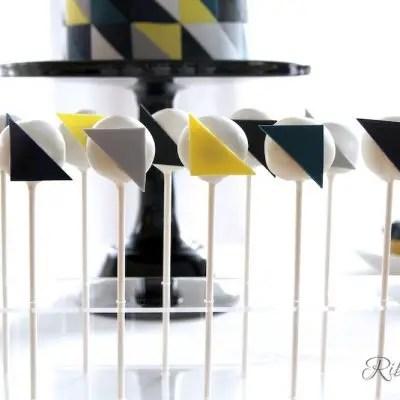 Geometrische Cake Pops
