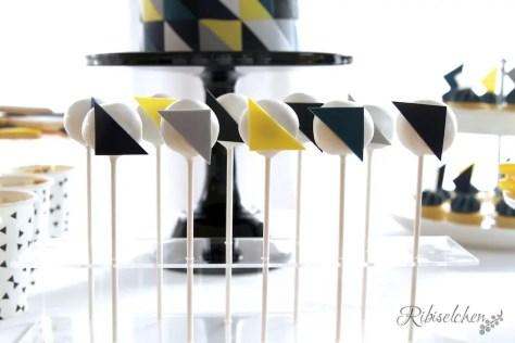Cake Pops Dreiecke