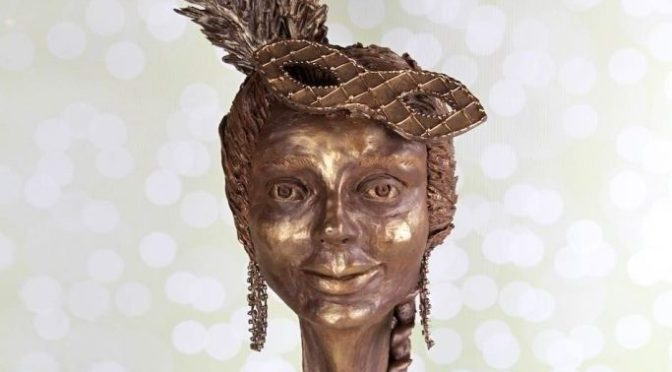 Eine Schönheit aus Schokolade – 3D Torte Büste