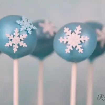 Eiskönigin - Cake Pops