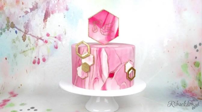 Eine Babyparty in Rosa – mit Torte!