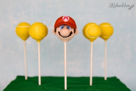 Super Mario und Tennis Cake Pop Tutorial