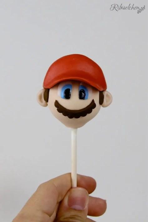 Super Mario Cake Pop Tutorial