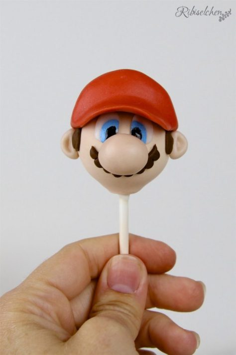 Super Mario Cake Pop Tutorial