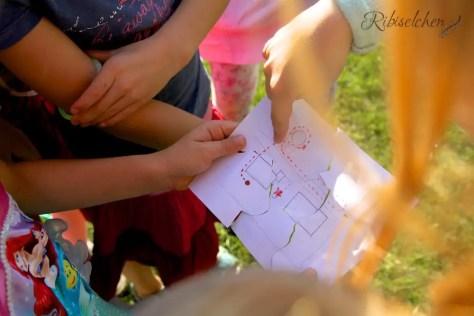 Meerjungfrauen Spiele Kindergeburtstag