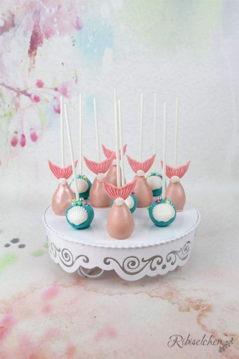 Meerjungfrauen Sweet Table Cake Pops