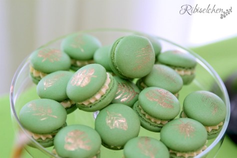Tropische Party Macarons