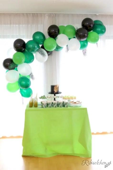 Tropische Party Sweet Table