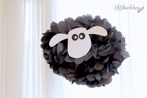 Pompom Schaf