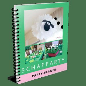 Gratis Schafparty-Planer: mit Ablaufplan, Partyspielen, Ideen für Gastgeschenke, Bastelanleitungen zum Ausdrucken, u.v.m.!