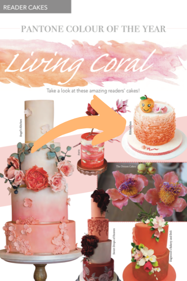 Living Coral Cakes
