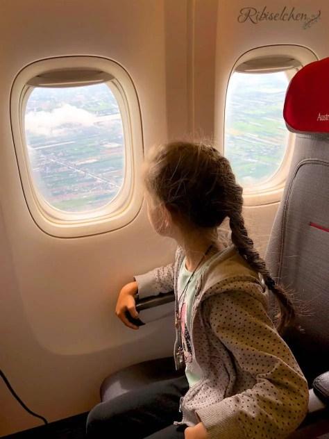Koh Samui mit Kindern - Flug