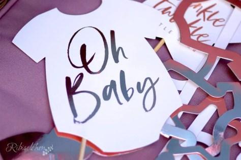 Babyparty Foto Requisiten