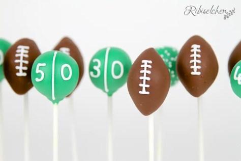 Football Cake Pops Anleitung