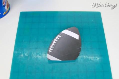 American Football Torte Anleitung