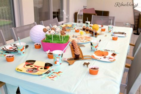 Sweet Table der Hundeparty