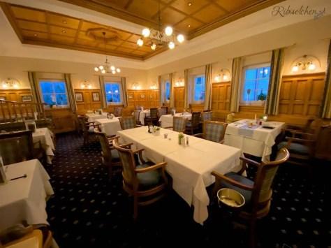 Speisesaal im Hotel Lürzerhof