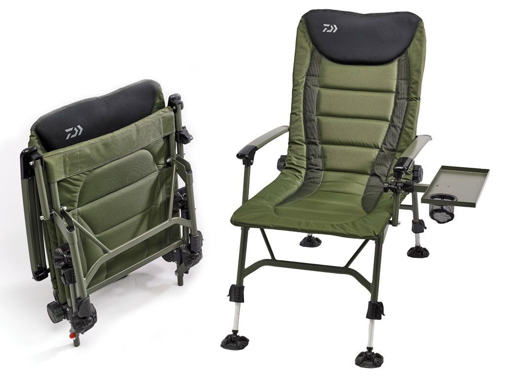 daiwa fishing chair curtis dark brown leather recliner club ribolovnipribor hr infinity specialist
