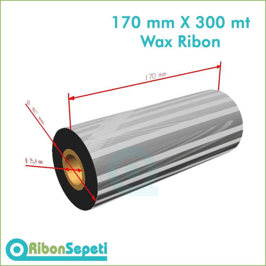 170 mm X 300 mt Wax Ribon Fiyatı (Online Satın Al)