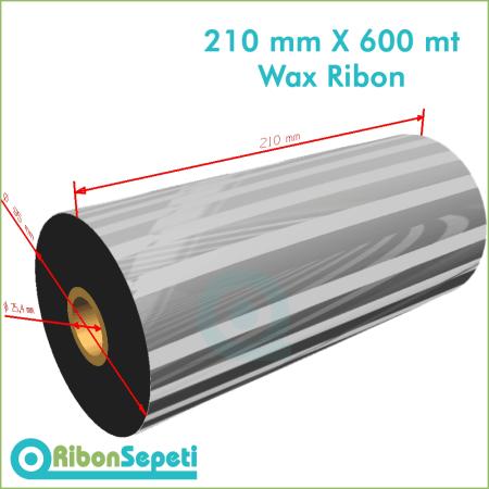 210 mm X 600 mt Wax Ribon (Online Satın Al)