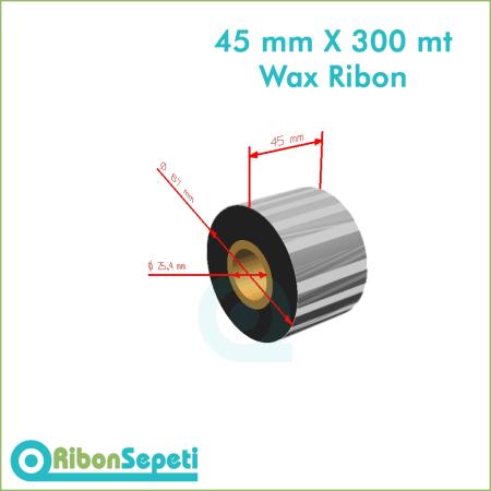 45 mm X 300 mt Wax Ribon Fiyatı (Online Satın Al)