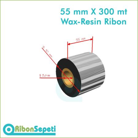 55 mm X 300 mt Wax-Resin Ribon Fiyatı (Online Satın Al)