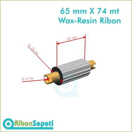 65 mm X 74 mt Wax-Resin Ribon Fiyatı (Online Satın Al)