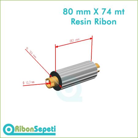 80 mm X 74 mt Resin Ribon Fiyatı (Online Satın Al)