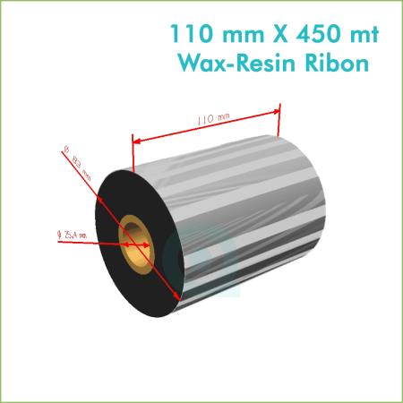 110 mm X 450 mt Wax Resin Ribon (Online Satın Al)