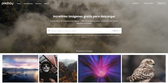 10 sitios para obtener imágenes gratuitas en 2019