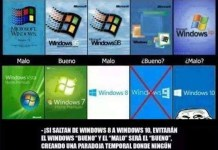 que paso con windows 9