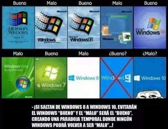 que paso con windows 9
