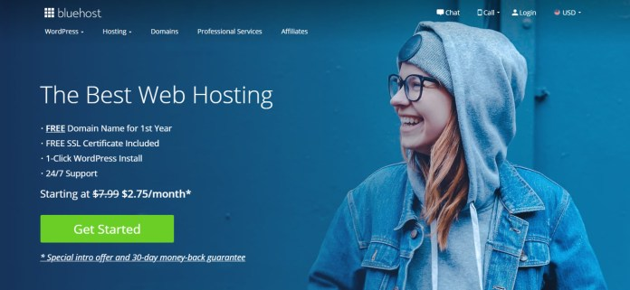 web bluehost