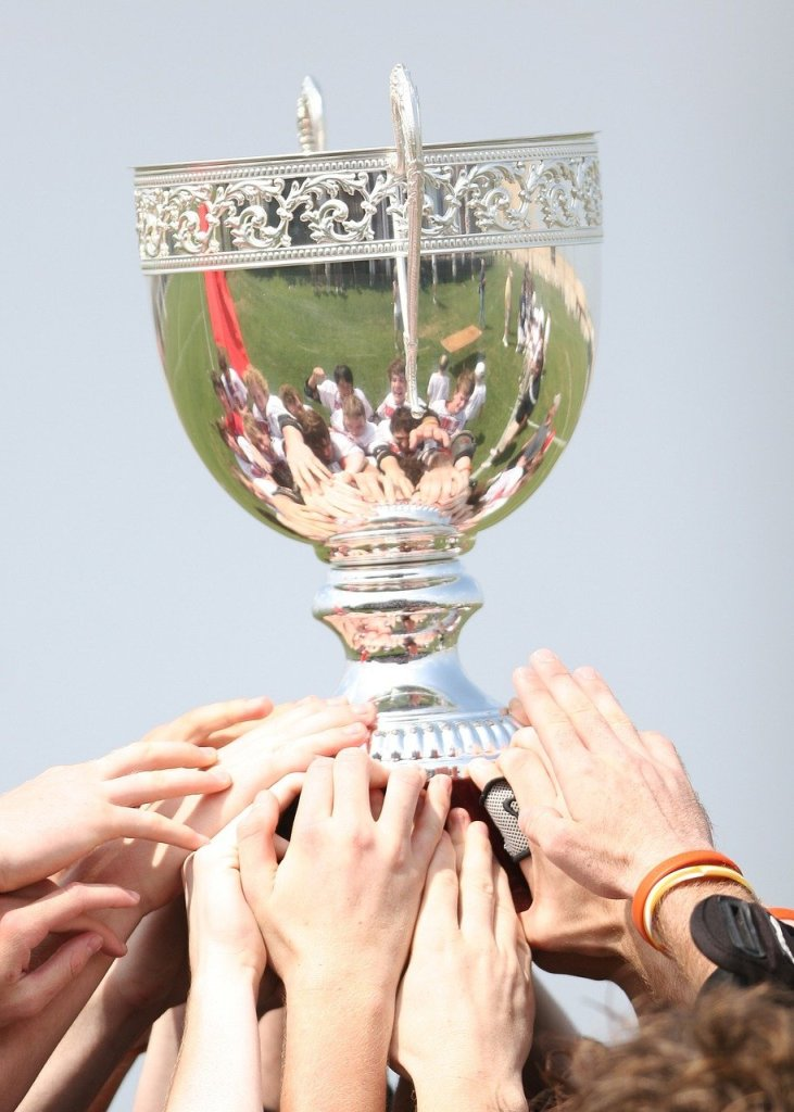 champions, award, trophy