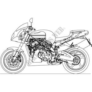 2004 TUONO 1000 APRILIA MOTORCYCLES Aprilia motocicli