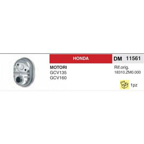 Filtro Aria Motori Honda Motozappe 410-510-560 GX160 F660