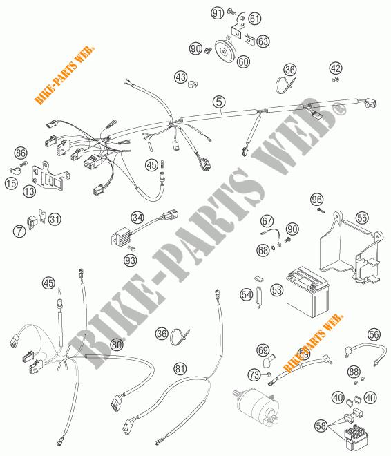 [Get 23+] Schema Elettrico Ktm Duke 125