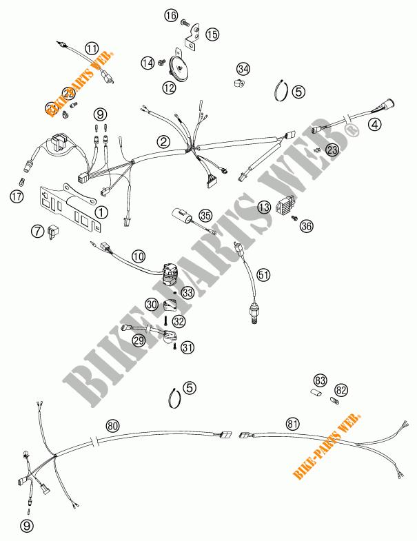 [View 26+] Schema Elettrico Ktm Exc 450