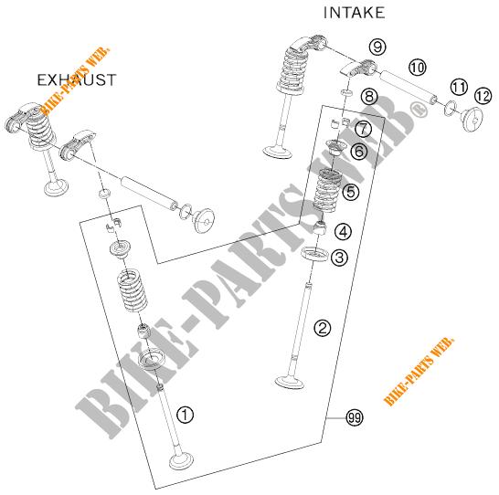125 DUKE WHITE ABS BAJDIR 2014 EU F4003N7 2014 EU F4003N7